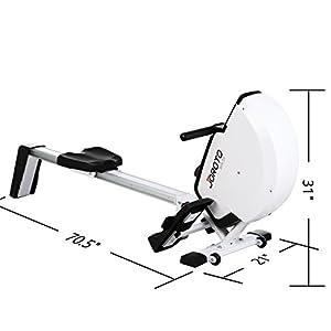 JOROTO MR30 Health & Fitness Magnetic Folding Rowing Machine by JOROTO