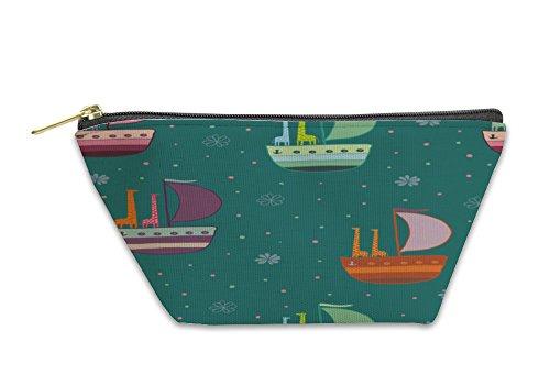 Gear New Accessory Zipper Pouch, Giraffes In A Boat Pattern, Large, 3519117GN by Gear New