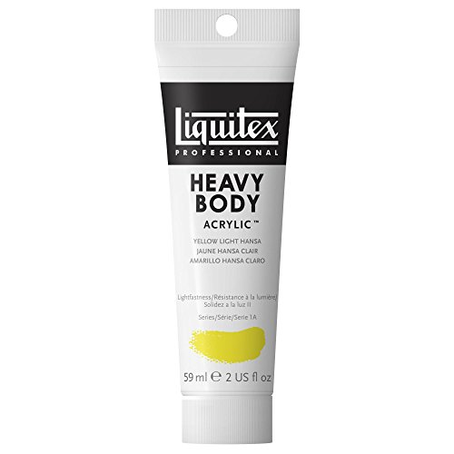 Liquitex Professional Heavy Body Acrylic Paint 2-oz tube, Ye
