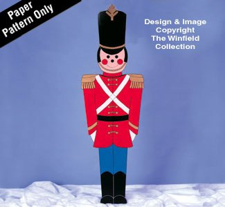 Giant Toy Soldier Woodcraft Pattern by Winfield Collection