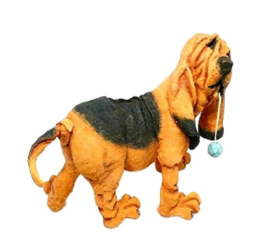Herbie The Bloodhound Puppy Figurine By Country Artists