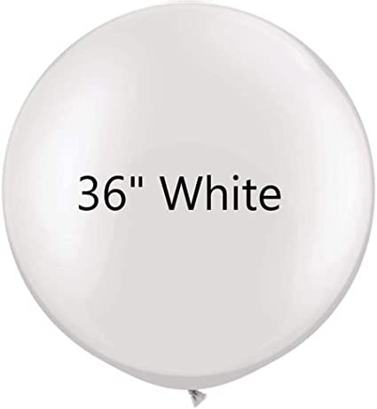 2× Colorful 36/'/' Balloon Ball  Big Latex Balloons For Birthday Party Decoration