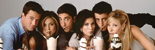 Friends Milkshakes TV Television Show Print (Unframed 12x36 Poster) (Friends Television)