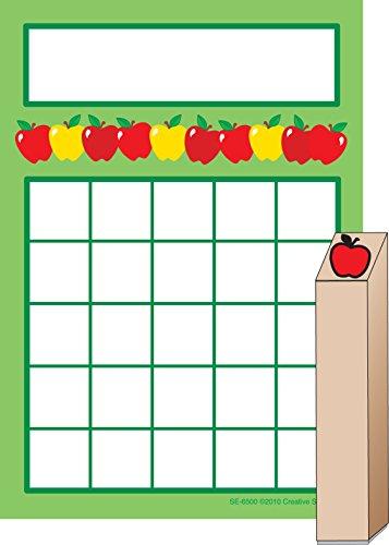 Apples Progress Pad and Stamp Set
