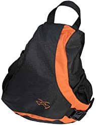 Piper Gear Slider Deluxe Messenger ackpack (Blk/Orange, 18x12x6.5-Inch)