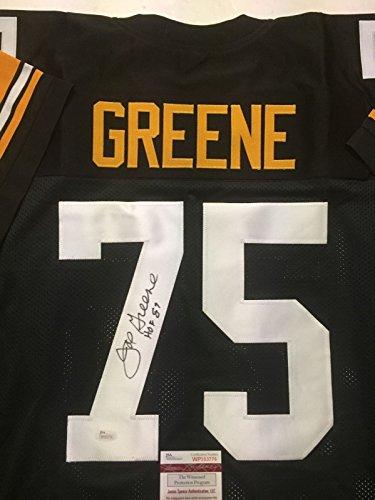 Autographed/Signed Mean Joe Greene