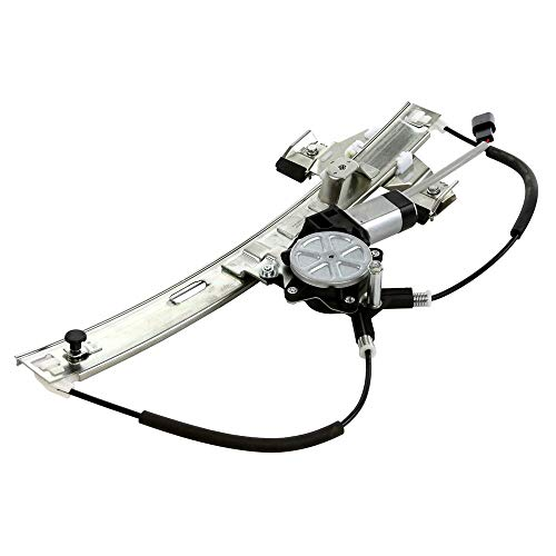 (Rear Right Side Power Window Regulator with Motor Compatible for 2004 2005 2006 2007 2008 Pontiac Grand Prix)