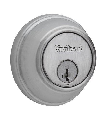 Kwikset Cylinder Deadbolt featuring SmartKey