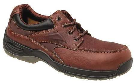 Florsheim Men's Oxford Shoes, Composite Toe Type, Leather Upper Material, Brown, Size 9EEE - 1 Each