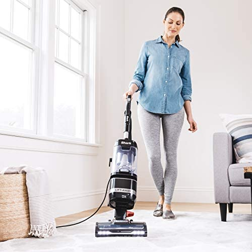 Shark LA322 Navigator Lift-Away ADV Corded Lightweight Upright Vacuum with Detachable Pod Pet Power Brush Crevice and Upholstery Tool, Black