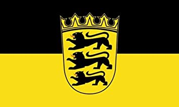 Flagge Baden Württemberg Landessiegel 90 x 150 cm Fahne