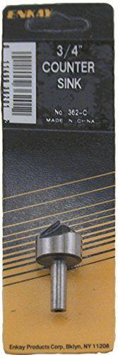 3/4' Carded (Enkay 362-C  3/4-Inch Counter Sink, Carded)