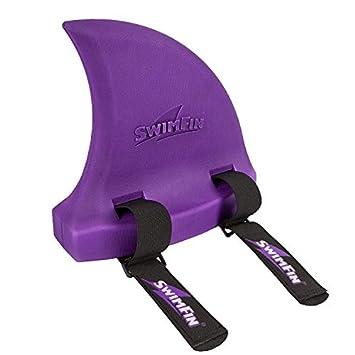 SwimFin Shark Swimming Aid Purple by Swimfin: Amazon.es: Juguetes y juegos