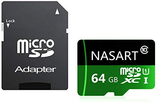 Tablets 32GB NARAST Micro SD Card 32GB High Speed Class 10 with Free Adapter For Android Smartphones