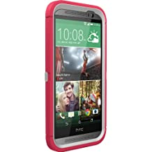 OtterBox Defender Series for HTC One M8 - Retail Packaging - Neon Rose
