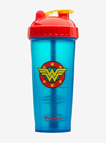Perfect Shaker DC Comics Wonder Woman Logo Shaker Bottle ()