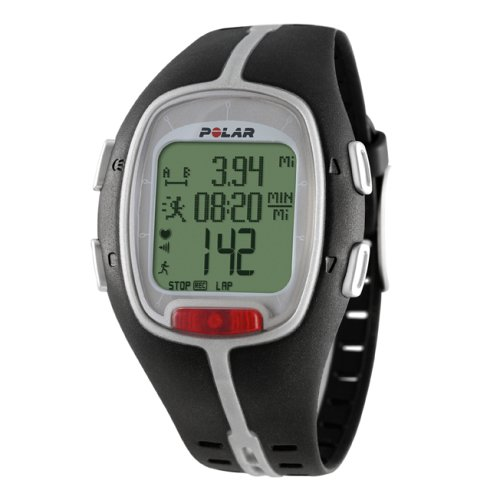 POLAR RS200sd Heart Rate Monitor Watch (Black)