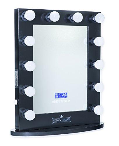 reigncharm hollywood vanity mirror bluetooth audio enabled led light bulbs zonhunt. Black Bedroom Furniture Sets. Home Design Ideas