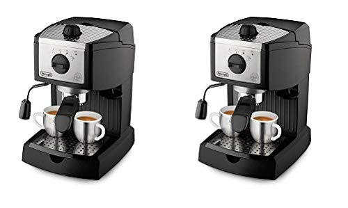De'Longhi EC155 15 BAR Pump Espresso and Cappuccino Maker (2-(Pack))