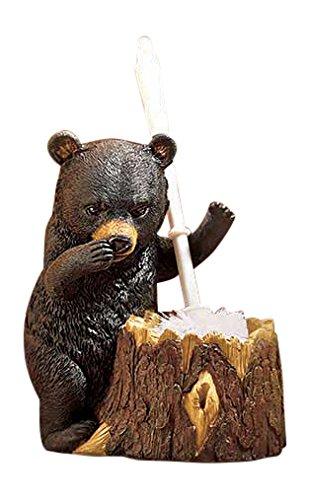 Bear Shaped Toilet Brush Holder