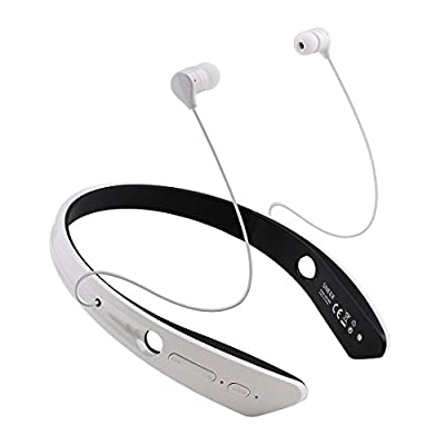"SNEER ""iSport"" Series Premium 2014 Newest Mini Wireless NFC Bluetooth Headset Stereo Sports/Running & Gym/Exercise Bluetooth Earbuds Music Ultra-light Headphones Headsets w/Microphone for Iphone 6 5S 5C 4S 4, Ipad 2 3 4 New iPad,iPad Air Ipod, Android, Sa"