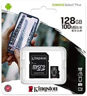 Kingston 32GB LG LS770 MicroSDHC Canvas Select Plus Card Verified by SanFlash. 100MBs Works with Kingston