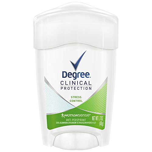 Image result for Degree Women Clinical Antiperspirant Deodorant Cream, Stress Control