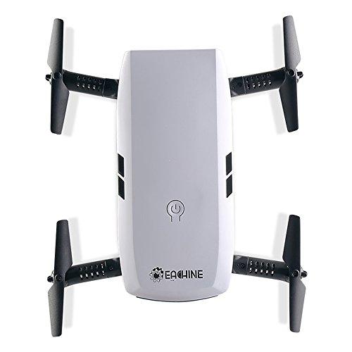 EACHINE Drone with Camera Live Video, E56 WiFi FPV Quadcopter with 2.0MP 720P HD Camera Gravity Sensor Mode Altitude Hold RC Foldable Selfie Pocket Drone APP Control RTF