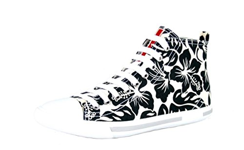 Prada Sneakers Nero Bianco da Sneakers Shoes donna Bianco High fUxrBqf