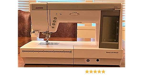Janome Horizon Memory Craft 9400 QCP: Amazon.es: Hogar
