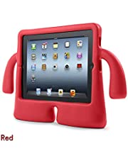Kids Shockproof Safe Handle EVA Foam Stand Case Cover For Apple iPad Mini 1 2 3 Red Colour