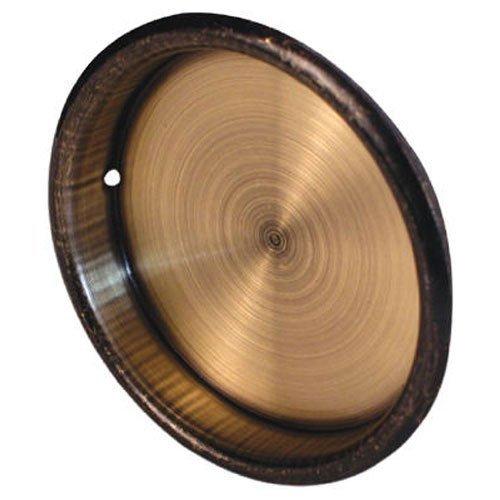 Slide-Co 163139 Bypass Door Pull Handle, Antique Brass,(Pack of 2)