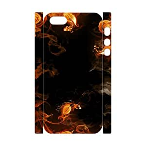Iphone 5,5S Spark 3D Art Print Design Phone Back Case Use Your Own Photo Hard Shell Protection YT030556