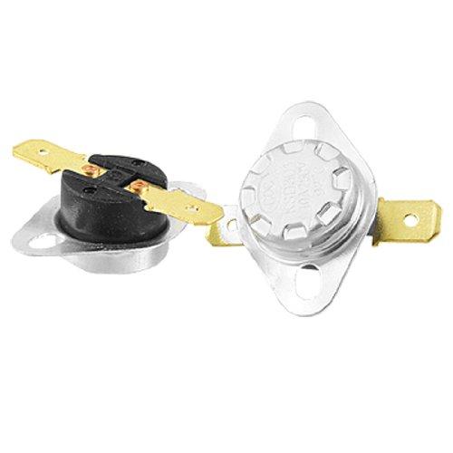 Bi Metal Disc (uxcell 2 Pcs KSD301 92 Celsius Temperature Switch Bimetal Disc Thermostat NC)