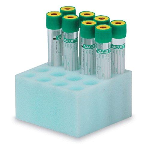 Foam Tube Racks for 16mm-17mm Tubes 2''H by CeilBlue