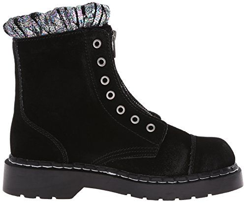 Front Zip Women's Combat Boot T K U Black wIpUqU