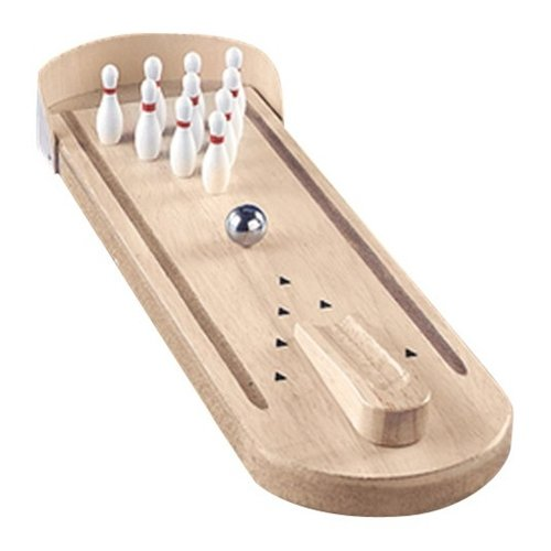 Bowlerstore Products Wooden Mini Bowling Game