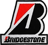 BRIDGESTONE Tires Motorcycles Cars Racing Motorsport Patch Sew Iron on Logo Embroidered Badge Sign Emblem Costume BY Dreamhigh_skyland