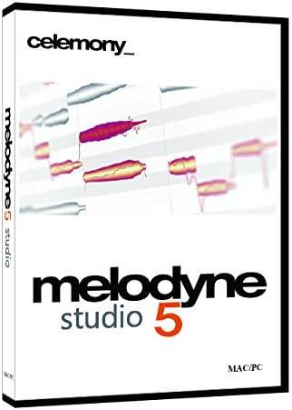 Celemony Software MELODYNE 5 STUDIO ピッチ編集ソフト パッケージ版 (新機能:コードトラック、歯擦音検出、フェード、レベル調整ツール)【国内正規品】