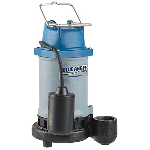 Blue-Angel-Pumps-T50E-12-HP-Submersible-Cast-Iron-Effluent-Pump