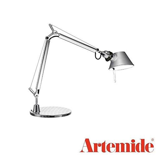 Artemide TOLOMEO Micro LED Table Lamp Aluminum LED Included Design Italy 1987