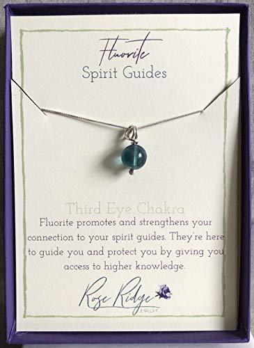 Empower - Fluorite - Spirit Guides - Third Eye Chakra - Necklace