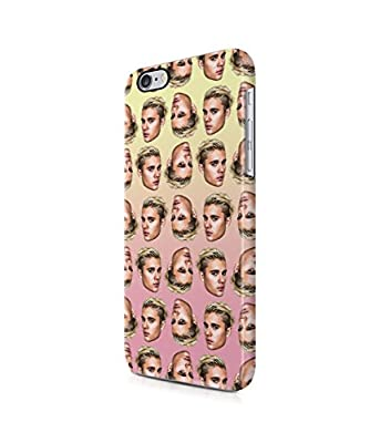 Pattern Justin Bieber Plastic Snap-On Case Cover Shell For iPhone 6 Plus / 6s Plus