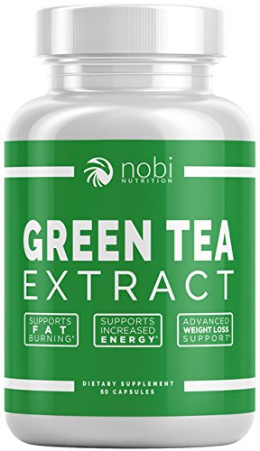 Green Tea Extract Supplement with EGCG for Weight Loss – Metabolism Boost and Heart Health – Caffeine Boost & Energy Supplement – All Natural Antioxidant
