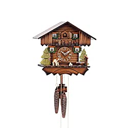 Cuckoo Clock Chalet House 1 day movement