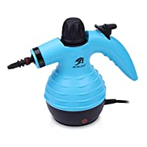 MLMLANT Handheld Pressurized Steam Cleane Multi-Purpose and Multi-Surface All Natural, Chemical-Free Steam Cleaning for Home, Auto, Patio, More