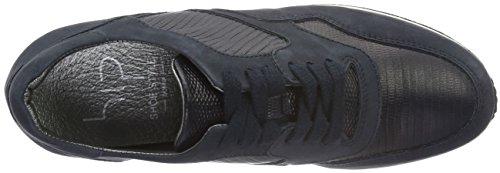 HIP D1011 - zapatilla deportiva de piel mujer Azul