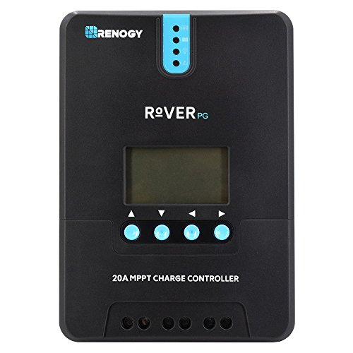 Renogy Rover 20 Amp 12V/24V MPPT Common Postive Solar Charge Controller Regulator Compatible with Lithium Sealed, Gel, Flooded Batteries and Bluetooth Module by Renogy (Image #5)