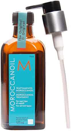 Moroccanoil Hair Treatment Bottle with Pump Bonus, 4.23 oz./125 mL