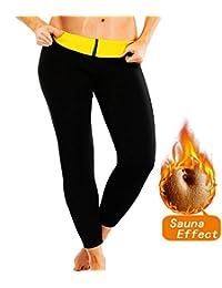 SEXYWG Women Ankle-Length Slimming Long Pants Neoprene Sweat Sauna Body Shapers